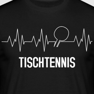 tennis de table Heartbeat - T-shirt Homme