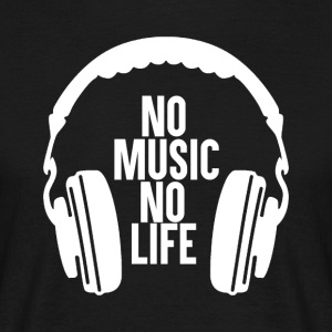 No Music - No Life - T-shirt Homme
