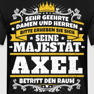 His Majesty Axel - Men's T-Shirt