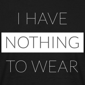 Nothing To Wear - T-shirt herr