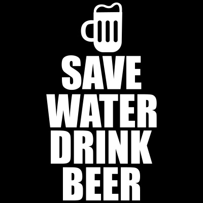 Alcohol Fun Shirt - Save water drink beer