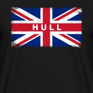 Hull Shirt Vintage United Kingdom Flag T-Shirt - Men's T-Shirt