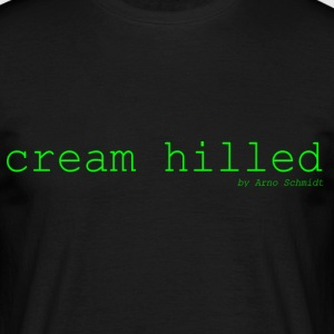 cream_hilled - Herre-T-shirt