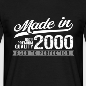 Made in 2000 - Herre-T-shirt