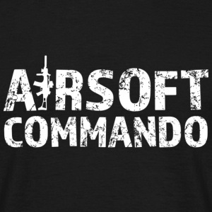 airsoft Commando - T-shirt Homme