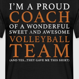 Volleybal Coach Cadeau - Mannen T-shirt