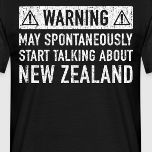 Original New Zealand Gift: Check Here - Men's T-Shirt