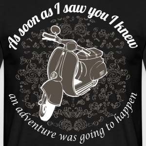 Vespa - As soon as I saw you I knew ... - Men's T-Shirt