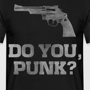 Revolver 29, do you punk dirty guns t-shirt - Men's T-Shirt