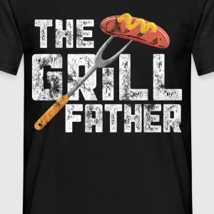 The barbecue father - Men's T-Shirt