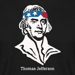 Président Thomas Jefferson American Patriot Vintag - T-shirt Homme