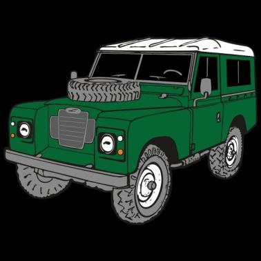 Rover HommeSpreadshirt 3 Shirt Road Off Landie Land 4x4 Series 88 T LzMVpjGqSU