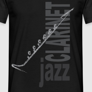 Jazz Klarinet - Herre-T-shirt