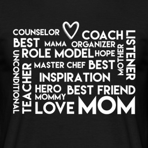 LoveMom - Mothersday - Men's T-Shirt