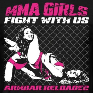 MMA Girls - Fight Wear - Mix Martial Arts - BJJ - Männer T-Shirt