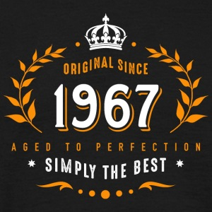 original since 1967 simply the best 50th birthday - Männer T-Shirt