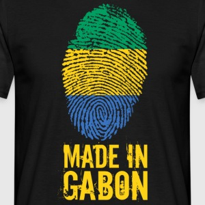 Made In Gabon / Gabon / Le Gabon - T-skjorte for menn