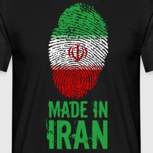 Made in Iran / Made in Iran ايران Īrān Perzië - Mannen T-shirt