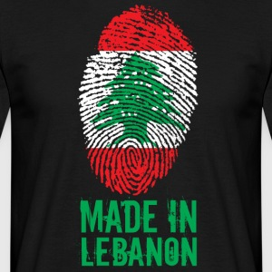 Gemaakt in Libanon / Made in Libanon اللبنانية - Mannen T-shirt