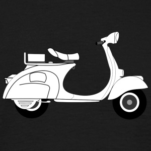 vespa moped - T-shirt herr