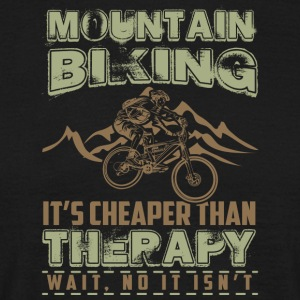mountainbike - T-shirt herr