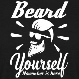 Beard selv - November er her - T-skjorte for menn