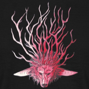 Wolf_Geweih - Men's T-Shirt