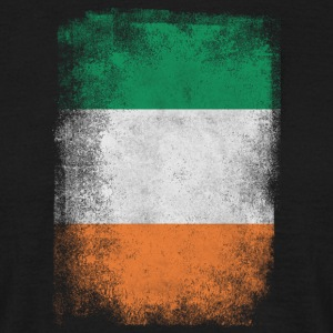 Ireland Flag Proud Irish Vintage Distressed - Men's T-Shirt