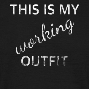 Outfit working - Männer T-Shirt