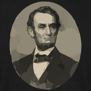Abraham Lincoln - T-skjorte for menn