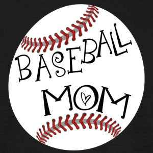 baseball mamma - T-skjorte for menn