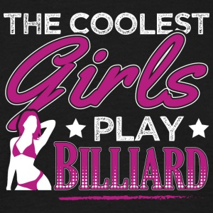 KULESTE GIRLS BILLIARDS - T-skjorte for menn