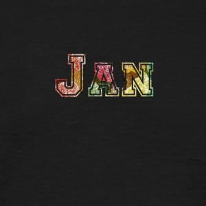 januari - T-shirt herr