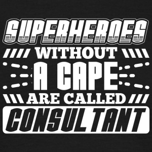 SUPER HEROES CONSULTANT - Mannen T-shirt