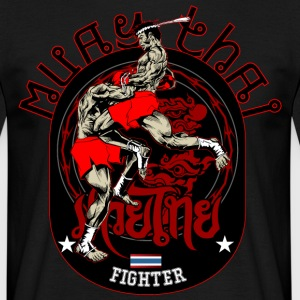 Muay Thai Fighter - Männer T-Shirt