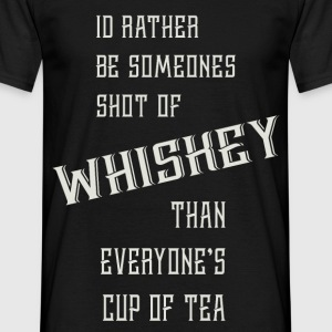 Shot of Whiskey - T-shirt herr