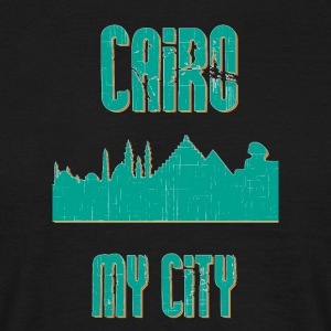 Kairo MY CITY - Herre-T-shirt