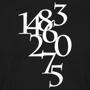 Numbers - T-shirt herr