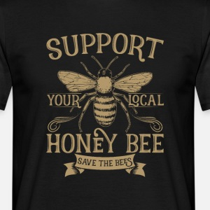 Support Your Local Honey Bee Save the Bees Keeper