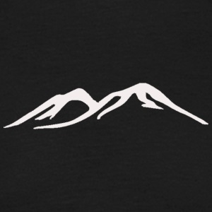 Mountain Ridge - Herre-T-shirt