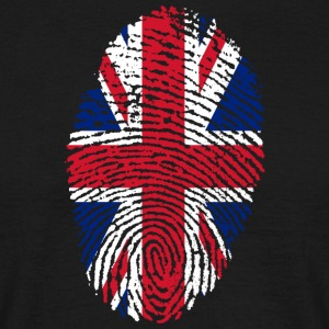 Fingerprint - UK - Men's T-Shirt