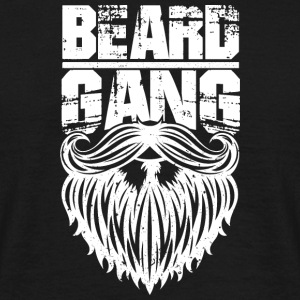 beard gang white - Men's T-Shirt