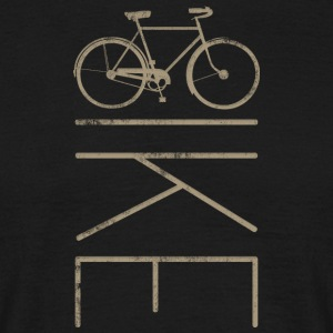 Commuter Bike Men's Bicycle - Men's T-Shirt