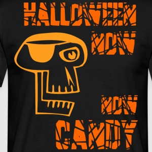 Helloween Nu Nu Candy Orange - Herre-T-shirt