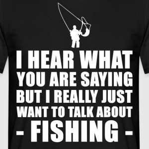 Funny Fishing Gift Ideas For Father Of Grandfather - Men's T-Shirt
