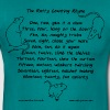 Ratty counting rhyme - Men's T-Shirt