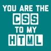 CSS To My HTML Funny Quote - Camiseta hombre