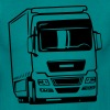 Camion camion Liebherr - T-shirt Homme
