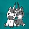 unicorn unicorns couple couple love love 2 cute cu - Men's T-Shirt