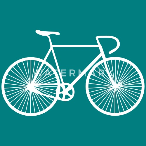 fahrrad rennrad bike bicycle von blackburst spreadshirt. Black Bedroom Furniture Sets. Home Design Ideas